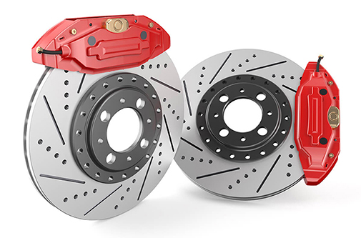 Car discs brake and caliper repair