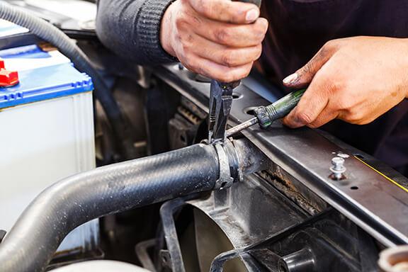 Repairing car radiator Las Vegas
